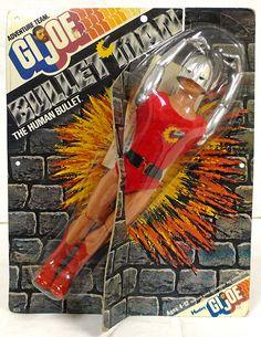 ratherchildish:  Bullet Man (Hasbro, 1974)