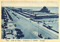 Ostia anni 30 Bucharest, Old Photos, Paris Skyline, Rome, Louvre, Italy, Building, Places, Travel