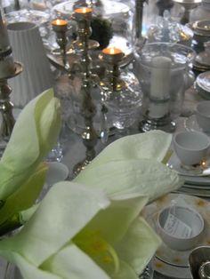 amarylis i świecznik Cavendish z Lene Bjerre