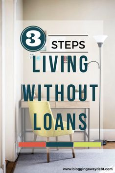Living Without Loans: 3 Steps Get Out Of Debt, Debt Free, First Step, Saving Money, Blogging, How To Get, Live, Save My Money, Money Savers