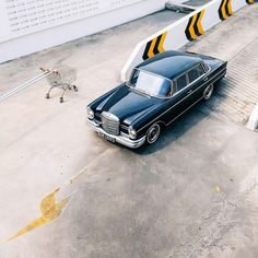"meandmybentley: ""Old dog. New tricks. 1964 W111 Mercedes-Benz 220S. (Image: Carphiles) #meandmybentley (at Bangkok, Thailand) """