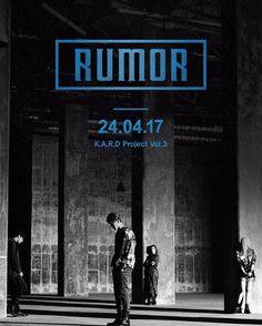 Rilis Teaser K.A.R.D Akan Comeback Dengan Single Bertajuk Rumor  Grup Co-ed asal DSP Media K.A.R.Dmengumumkan kembalinya mereka dengan merilis teaser.  Pada Senin (17/04) dini hari waktu Korea Selatan K.A.R.D melalui akun sosial media resminya merilis teaser pertama jelang comeback BM J. Seph Somin dan Jiwoo dengan lagu terbaru mereka.  Dalam teaser ini kita diperlihatkan tulisan RUMOR bercetak tebal yang diduga akan menjadi judul lagu terbaru grup. Selain itu juga terdapat jadwal perilisan…