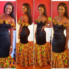 Seriously, I'm in love with this Ankara Dress!!!!!