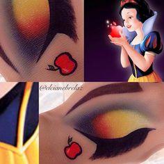 51 Ideas for eye white snow Snow White Makeup, White Eye Makeup, White Eyeshadow, Eye Makeup Art, Eyeshadow Makeup, Snow Makeup, Fairy Makeup, Mermaid Makeup, Disney Character Makeup