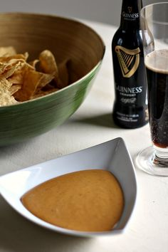 Guinness Beer Cheese Dip for your St. Patty's Day festivities!