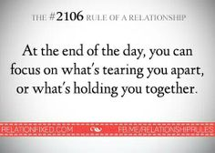 Not only applicable for relationships
