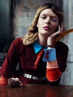 Vogue Italia January 2014 Feat. Sam Rollinson by Emma Summerton