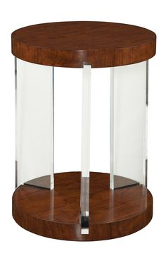 Round Accent Table in Mahogany | Maitland-Smith | Home Gallery Stores