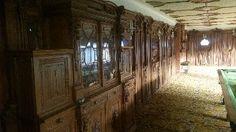 Antique oak panels