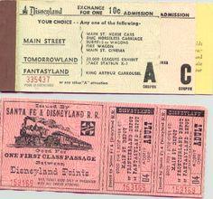 early Disney tickets