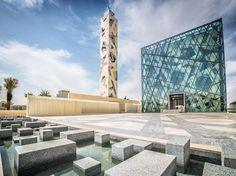 Mezquita de la Comunidad KAPSARK en Riyadh, Arabia Saudita, por HOK