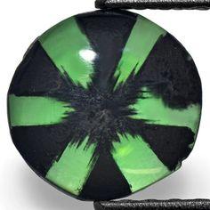Round Trapiche Emerald from Muzo