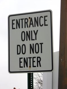 I have been staring at this sign for years. - Imgur