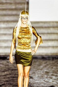 Alexander McQueen Spring 1997 Ready-to-Wear Fashion Show –