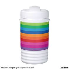 Rainbow Stripes Igloo Beverage Dispenser