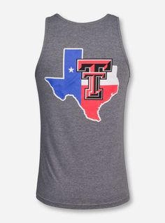7410792d53efb Texas Tech Summer Pride Tank Top. Red Raider Outfitter