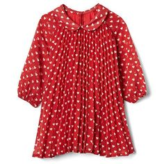 Heart Print Dress for Baby Girls from Gap