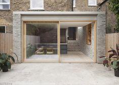 Privathaus, Stoke Newington - Al Jawad Pike - Trend Anbau Backstein 2020 Brick Extension, House Extension Design, Rear Extension, House Design, Design Design, London Architecture, Residential Architecture, Architecture Design, Casa Patio