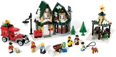 Winter Village Post Office 10222
