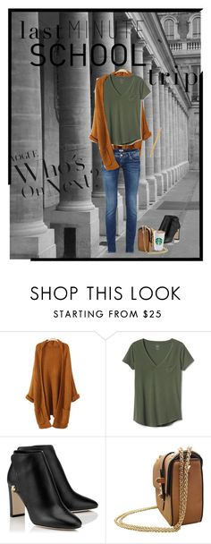 """""""School trip"""" by britt-catlynne-weatherall ❤ liked on Polyvore featuring Gap and Paper Mate"""