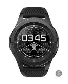 TRION - Watch face for Samsung Gear S3 / S2. Watchface by Brunen