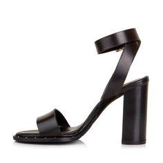 Sante πέδιλο δέρμα τρουκς μαύρο Sandals, Heels, Fashion, Heel, Moda, Shoes Sandals, La Mode, Pumps Heels, Fasion
