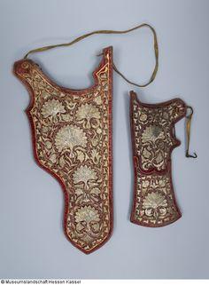 Pfeilköcher (gehört als Garnitur zusammen mit B XVII.351/1) - Katalog der Osmanischen Waffen der Museumslandschaft Hessen Kassel