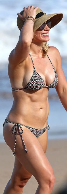 Hilary Duff - Bikini Candids in Hawaii 9-7-2015