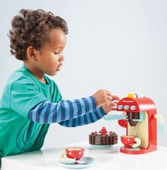 Máquina de Café - Le Toy Van   Cristina Siopa