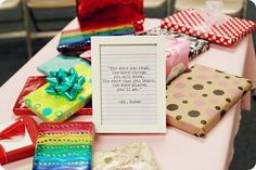 Cute book exchange idea