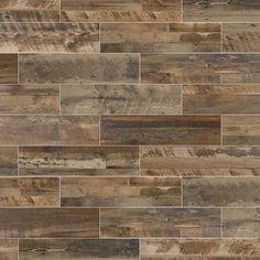 Marazzi Preservation Petrified Gray 6 X 36 Usa Wood Look Tile