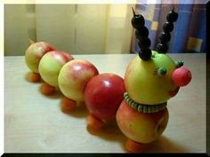 25 Fantastic Fruit and Vegetable Carvings and Art - Food Carving Ideas Vegetable Animals, Vegetable Crafts, Fruit Animals, Fruit And Vegetable Carving, Funny Vegetables, Fruits And Vegetables, Creative Food Art, Fruits For Kids, Food Carving