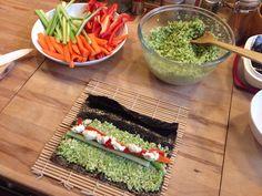 Nori Rolls de Crucíferas Relleno, Avocado Toast, Sushi, Plant Based, Rolls, Vegan, Breakfast, Food, Rice Vinegar