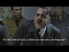 Hitler finds out he's in a parody - YouTube