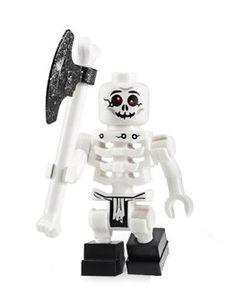 Amazon.com: Bonezai (Skeleton) - LEGO Ninjago Minifigure: Toys & Games