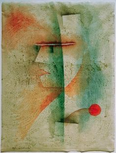 Paul Klee, Portrait d'un homme cstumé 1929 on ArtStack #paul-klee #art