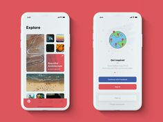 Pinterest — iPhone X redesign by Patryk Pustół