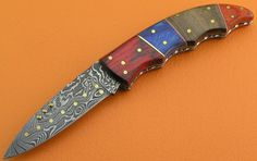Custom 100 Handmade & Forged Damascus Steel Rose by SanaCutlery, $49.99