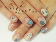 atelier+LIM : hand nail | Sumally #nailart