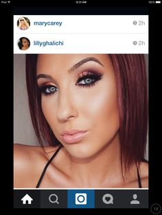 Just love her...makeup!