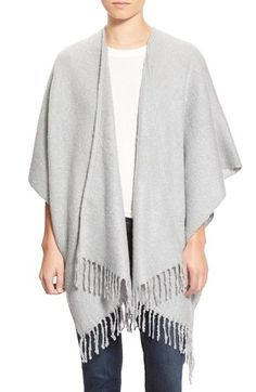 fringe poncho, comes in a ton of colors! $58 get it here: http://rstyle.me/~6gQOq