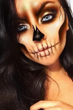 67 Unique Halloween Makeup Ideas for 2019 - chic better