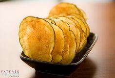 Microwaved Fat-Free Potato Chips