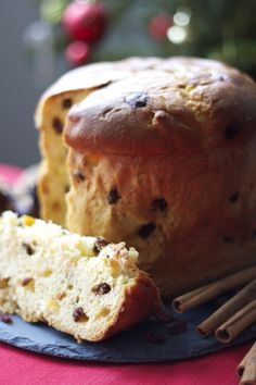 Make your Christmas Italian. Make your own Panettone. My recipe on http://www.miomyitaly.com/italian-panettone.html