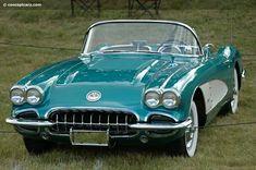 1958 #chevroletcorvette1958