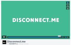 5 - conclusion: so visit disconnect me. Motion Video, Motion Graphics