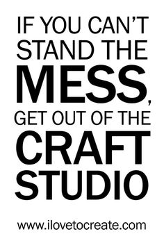 craft studio sign