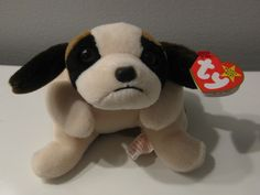 """1996 Retired TY Beanie Babies """"BERNIE"""" the Dog - Mint with Tags #Ty"""