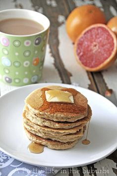 WheatFreeQuinoaPancakes4 {added ectra oats and a banana to thicken, to doubled recipe}