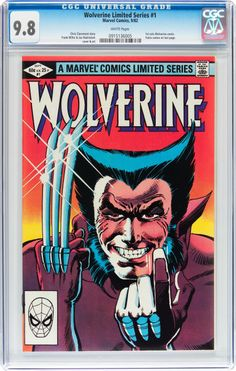 Wolverine (Limited Series) #1 (#Marvel, 1982)